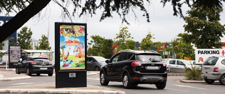 Affichage Auchan à Chambray-les-tours