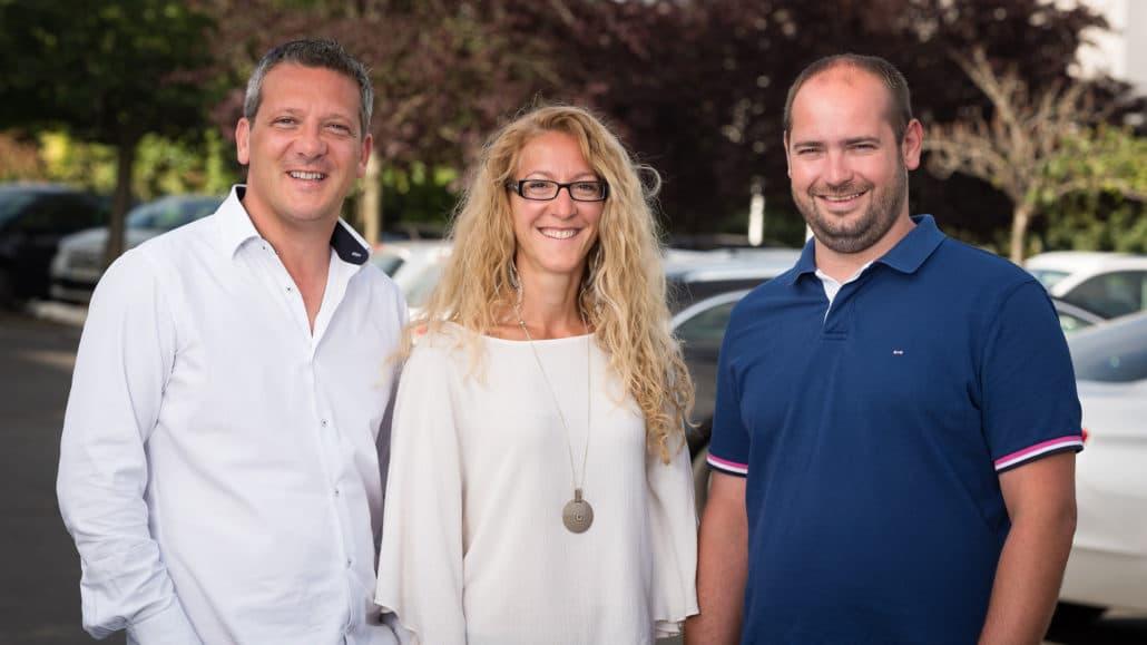 L'équipe Ellipse Affichage de la zone Centre Val-de-Loire