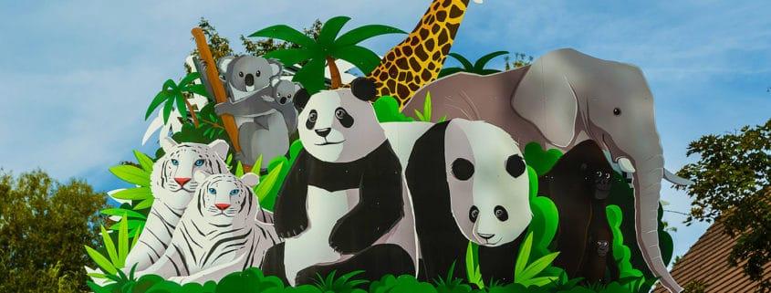 Enseigne du ZooParc de Beauval