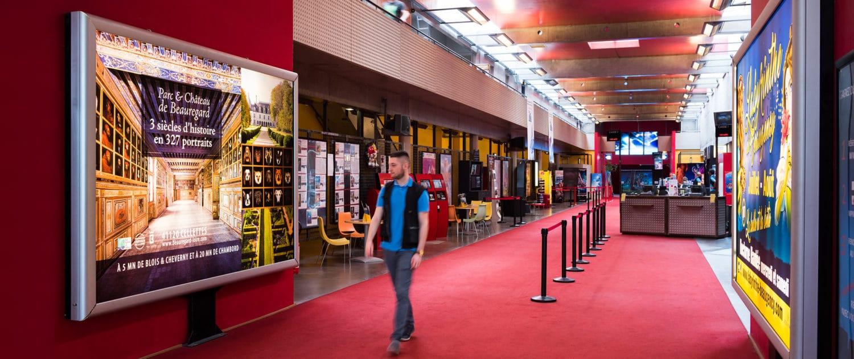 Affichage Cap Ciné à Blois