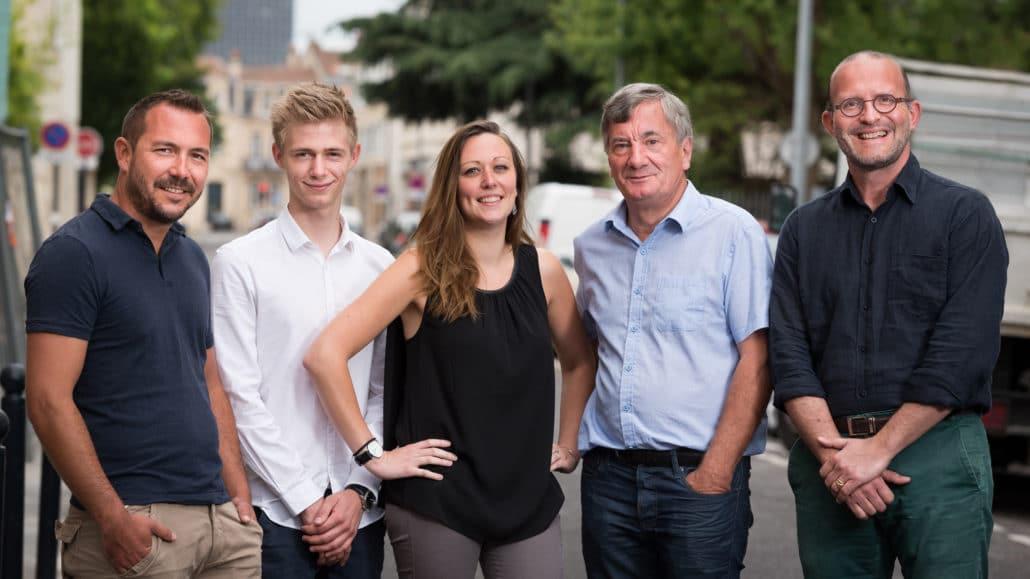 L'équipe Ellipse Affichage de la zone Nouvelle Aquitaine
